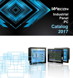 "Каталог 2017 ""Промышленные PC WECON Technology"""